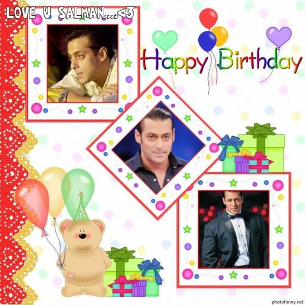 Happy Birthday Salman Khan Funny Pictures
