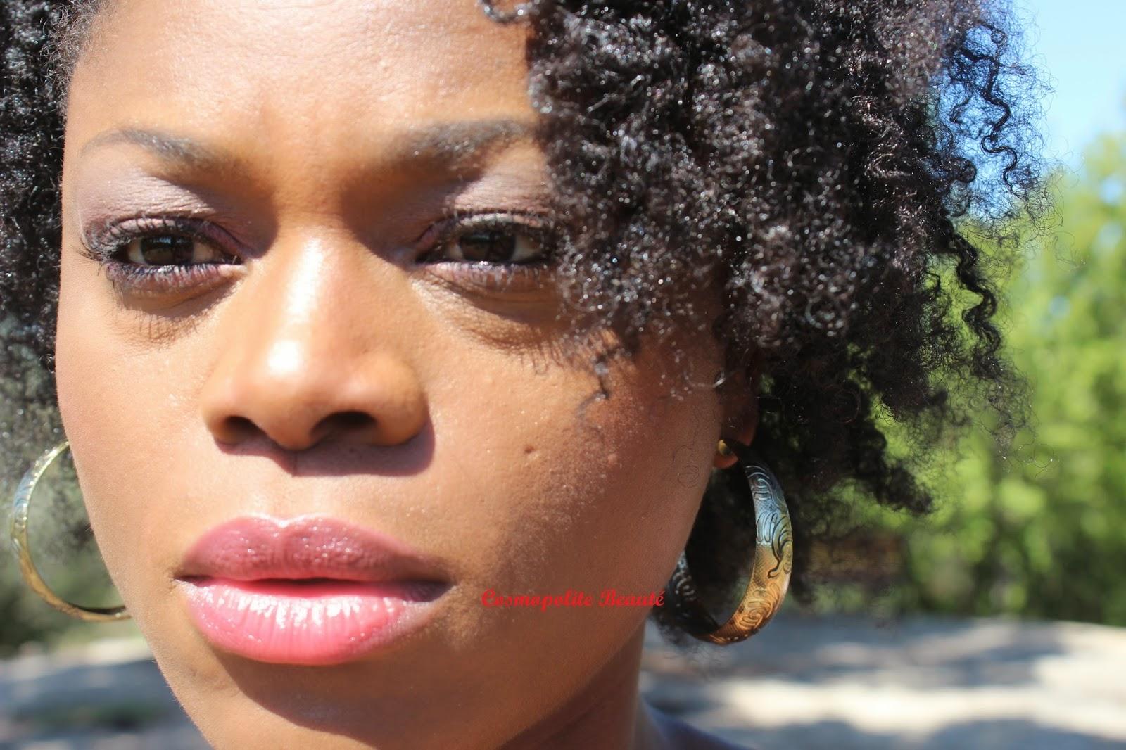 femme noire, black beauty, nappy, naturalista, wash and go, twist out, nappy, crépus, tenue, maquillage, chaussures, bala bosté, louis vuitton, revlon, ysl, urban decay, gemey, UNE, l'oréal, sleek