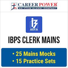 IBPS CLERK MAINS 2016
