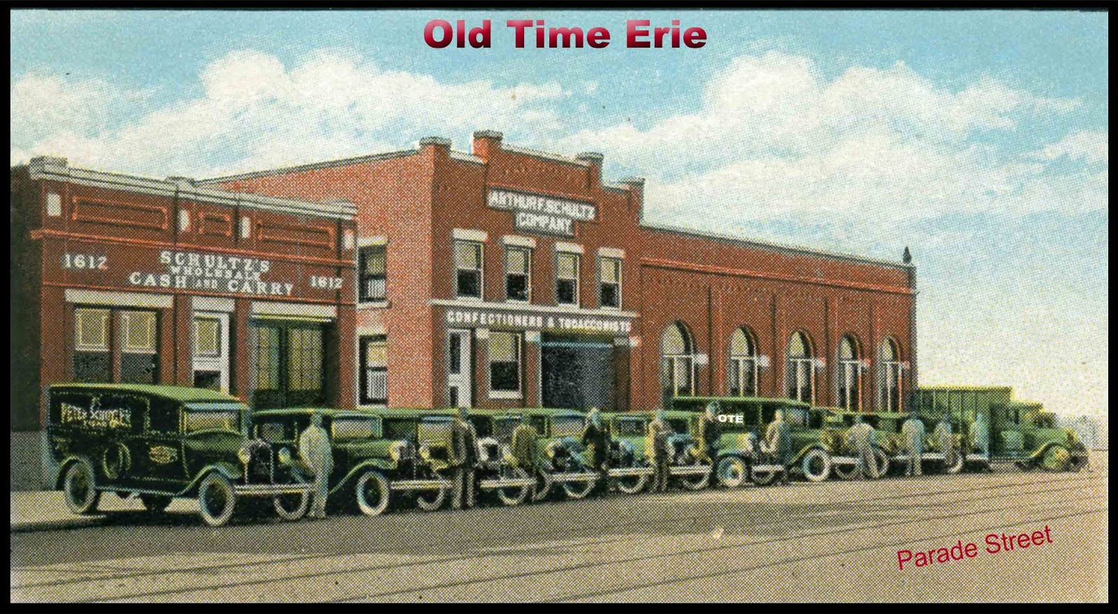 Old Time Erie Schultz Warehouse on Parade Street