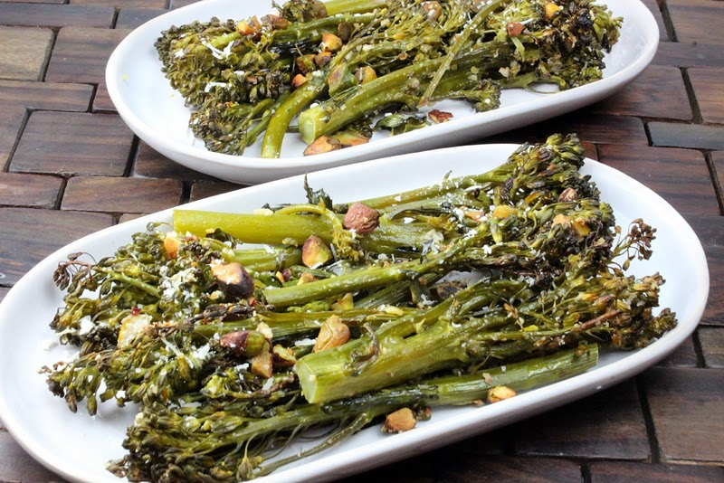 ... or broccoli or broccolini broccolini looks similar to pesto broccolini