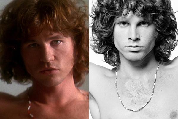 Jim Morrison Val Kilmer Comparison Val Kilmer Como Jim Morrison