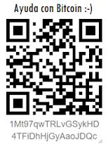 Ayudanos con Bitcoin