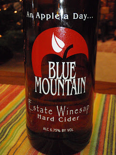 Winesap heirloom hard or real cider from Blue Mountain Cider