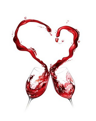 red wine with heart - Healthy Ways to Use Unused Red Wine