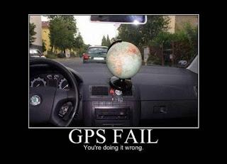 GPS - robisz to źle :)