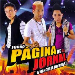 FORRO PAGINA DE JORNAL