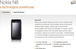 Nokia N8 lands on Orange UK