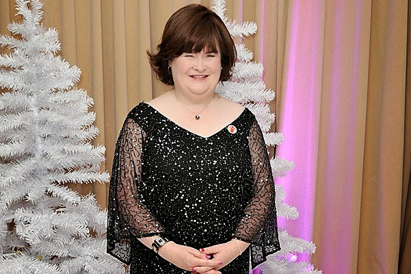 A 53-year-old Susan Boyle appeared boyfriend