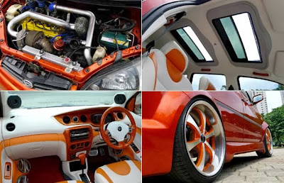 Modified Daihatsu YRV 2002, Race Hobby