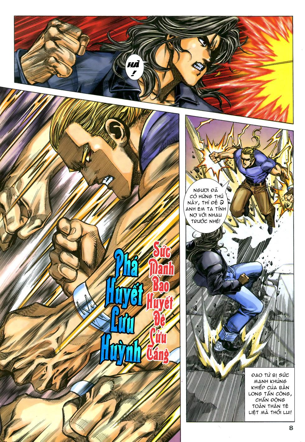 X Bạo Tộc chap 33 - Trang 8