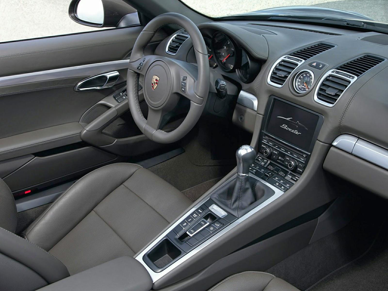 Interior Of Porsche Boxster