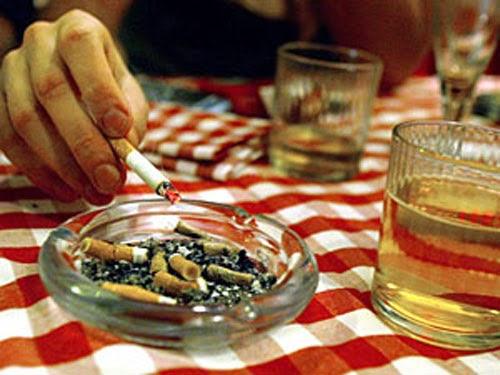 Evita el Tabaquismo y el alcoholismo