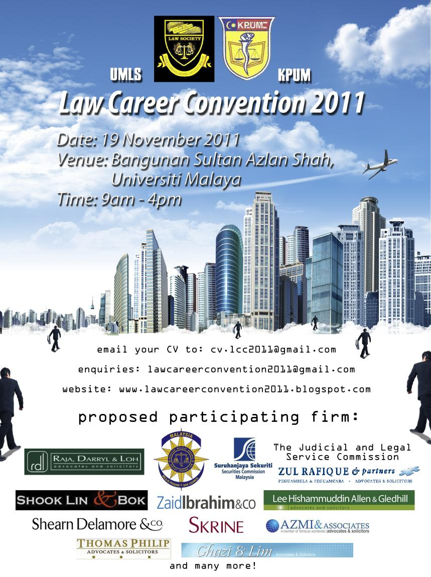 Law career convention 2011 how to write a cover letter cv click on picture to enlarge poster madrichimfo Images