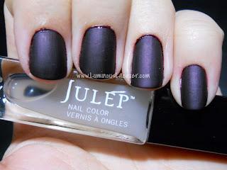 Julep - Matte Top Coat over Trina