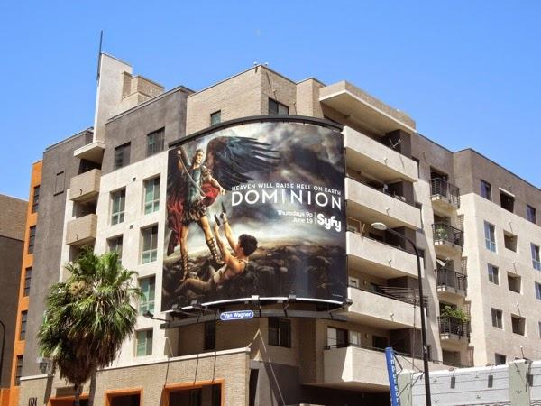 Dominion series premiere billboard