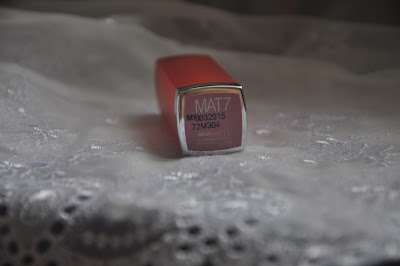 Maybelline Coloursensational Bold Matte in MAT 7