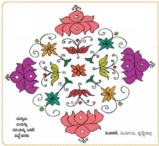 Muggulu / Eenadu Rangavallika ~ All in One Blog For U