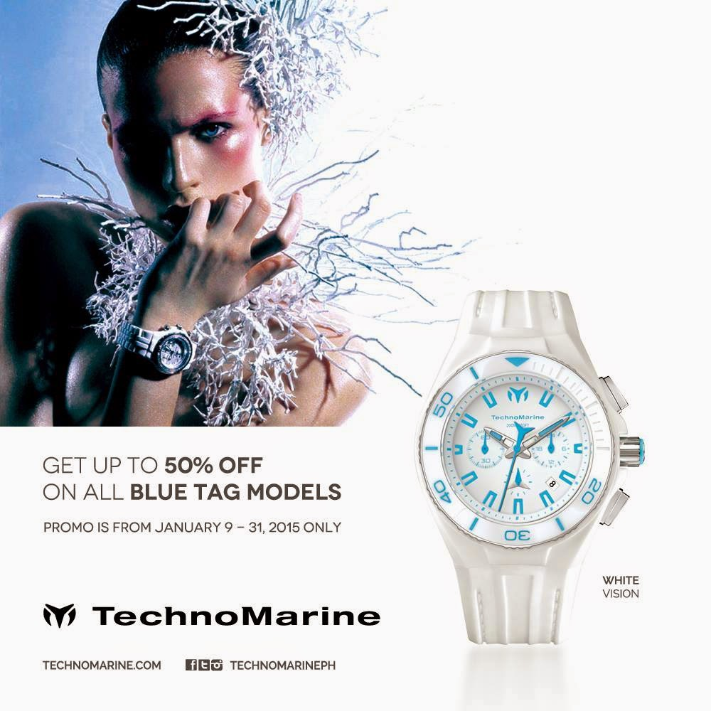 TechnoMarine Blue Tag Sale
