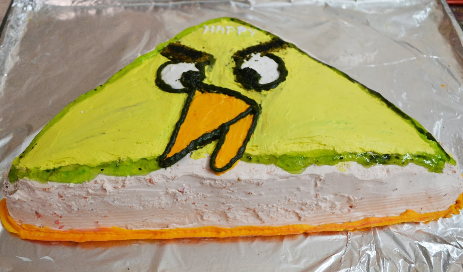 Home Spun Around Awesome Angry Bird Party With Lots Of