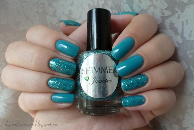 Shimmer polish Jasmine & Uslu airlines DRS