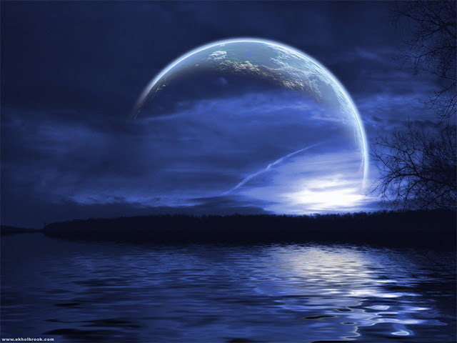 moonlight night wallpaper