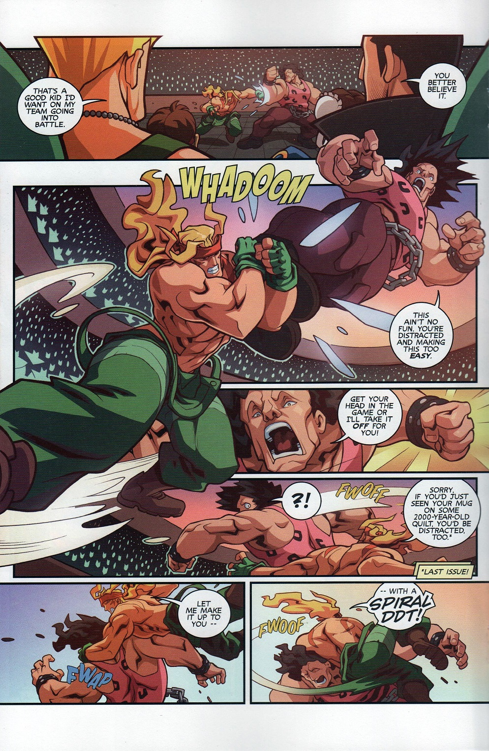 Street Fighter Unlimited Issue #8 #10 - English 16
