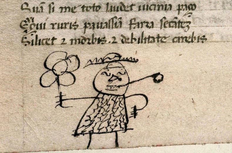 Historiador descubre doodles de hace 800 años en libros antiguos