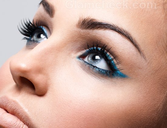 Dramatic Bridal Makeup Brown Eyes : Dramatic eye makeup for blue eyes Bridal Makeup