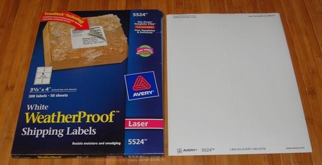 eatherproof shipping labels avery 5524 120 michaelieclark