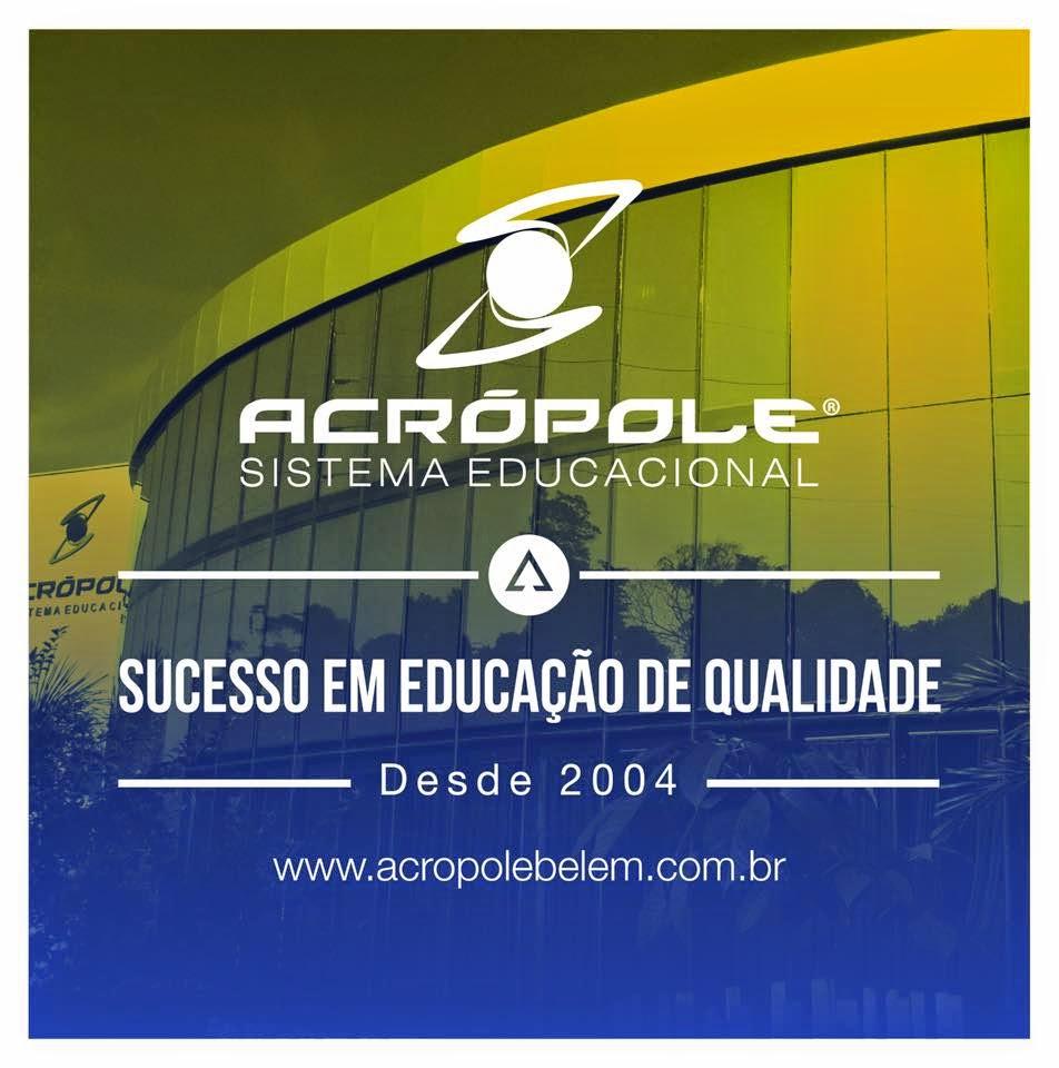 Sistema Educacional Acrópole - Slogan