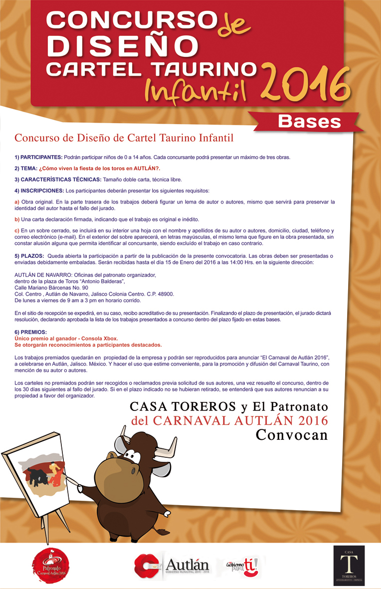 Culturautl n convocatoria al concurso de dise o de cartel for Convocatoria concurso docente 2016