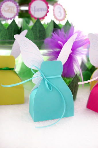 diy fairies or princess  favor boxes  with templates