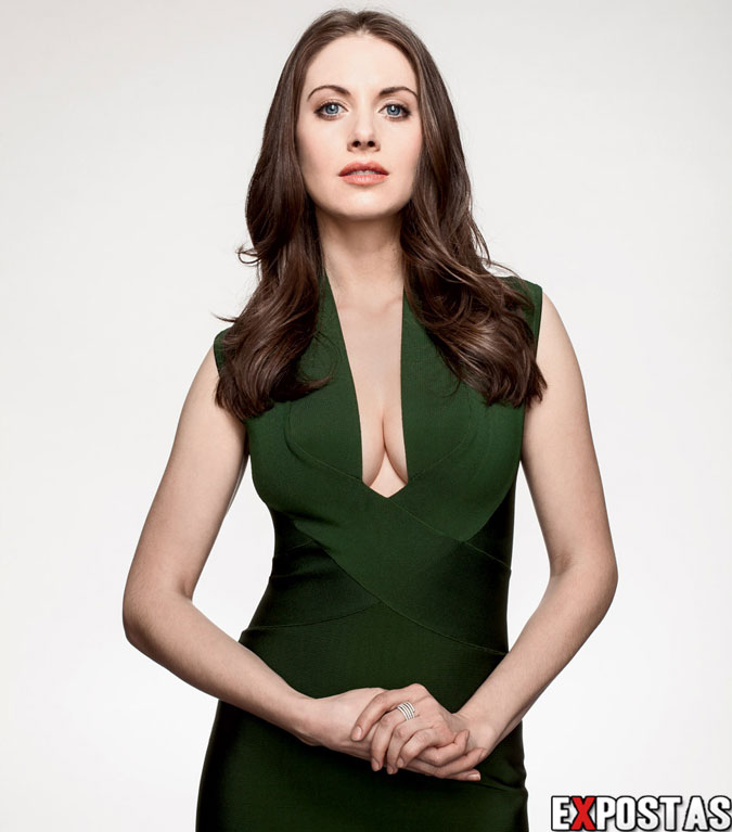 Alison Brie: Wired Magazine Photoshoot - Abril 2013
