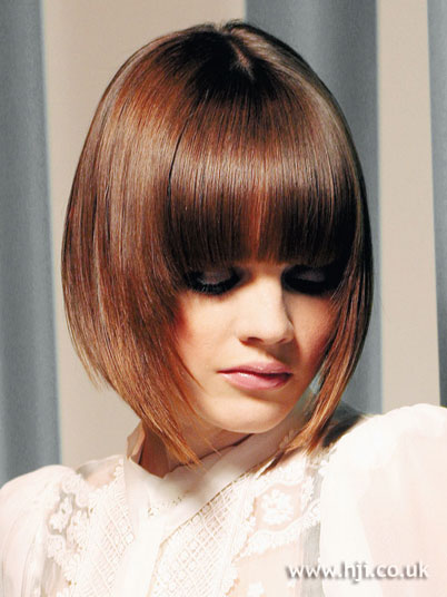 bob hairstyles with a fringe. Of course the bob hairstyle is definitely the most flexible modern short