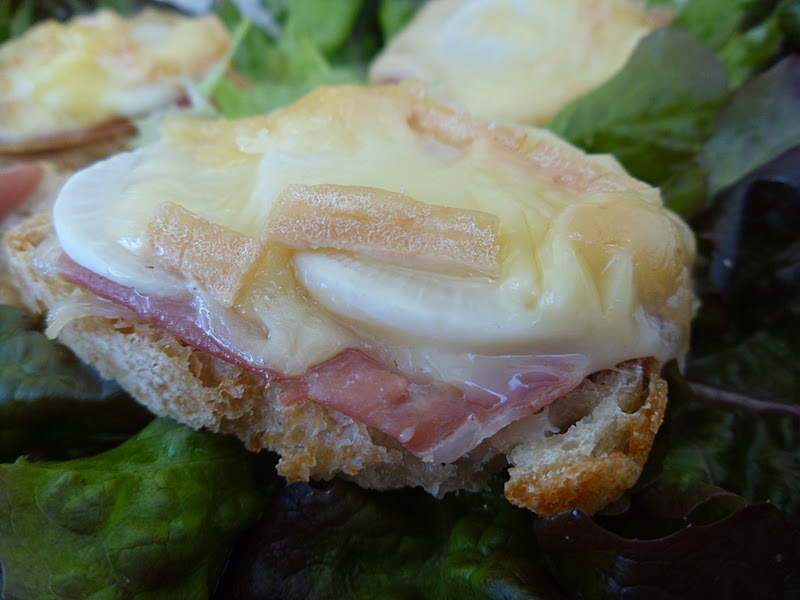 Gourmande ou passionn e toasts jambon cru radis noir - Cuisiner le radis noir cru ...