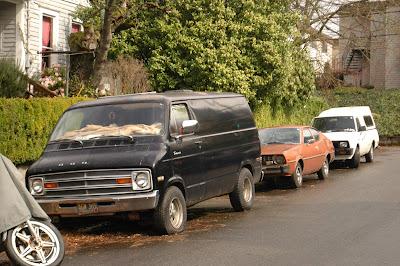 1971 Dodge Tradesman 100 Van.