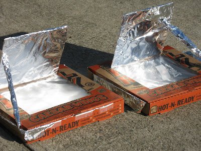 Koller Build Solar Oven Pizza Box