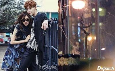 Sttt.. Nih Foto Park Shin Hye dengan Lee Jong Suk Lagi Pacaran Diam-diam Tertangkap Kamera Paparazi Dispatch