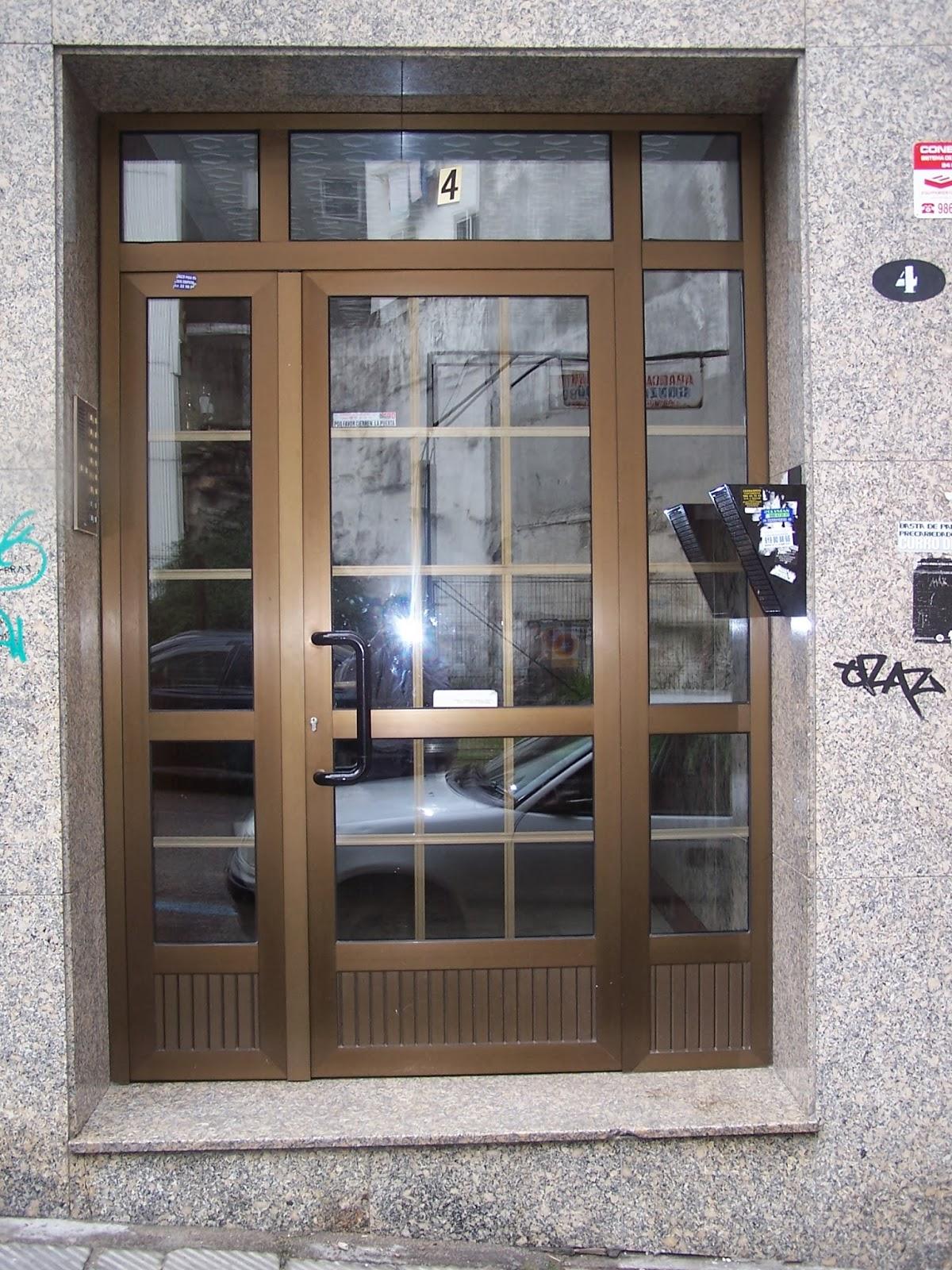 carpinter a de aluminio silva puertas de entrada
