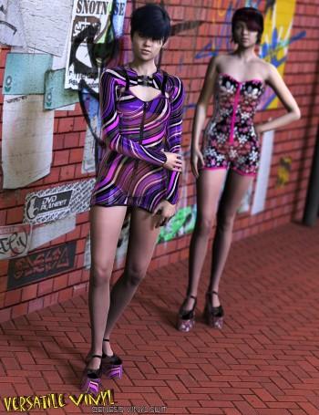 3d Models - Vinyl Jumpsuit and Versatile Vinyl for the Vinyl Suit