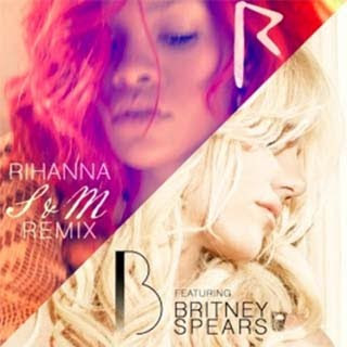 Rihanna featuring Britney Spears singing s&m