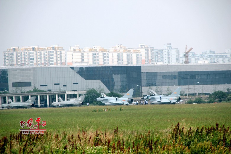 J-10 fighter on the airport