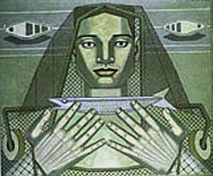 Maruja Mallo. Arquitectura humana, 1937.
