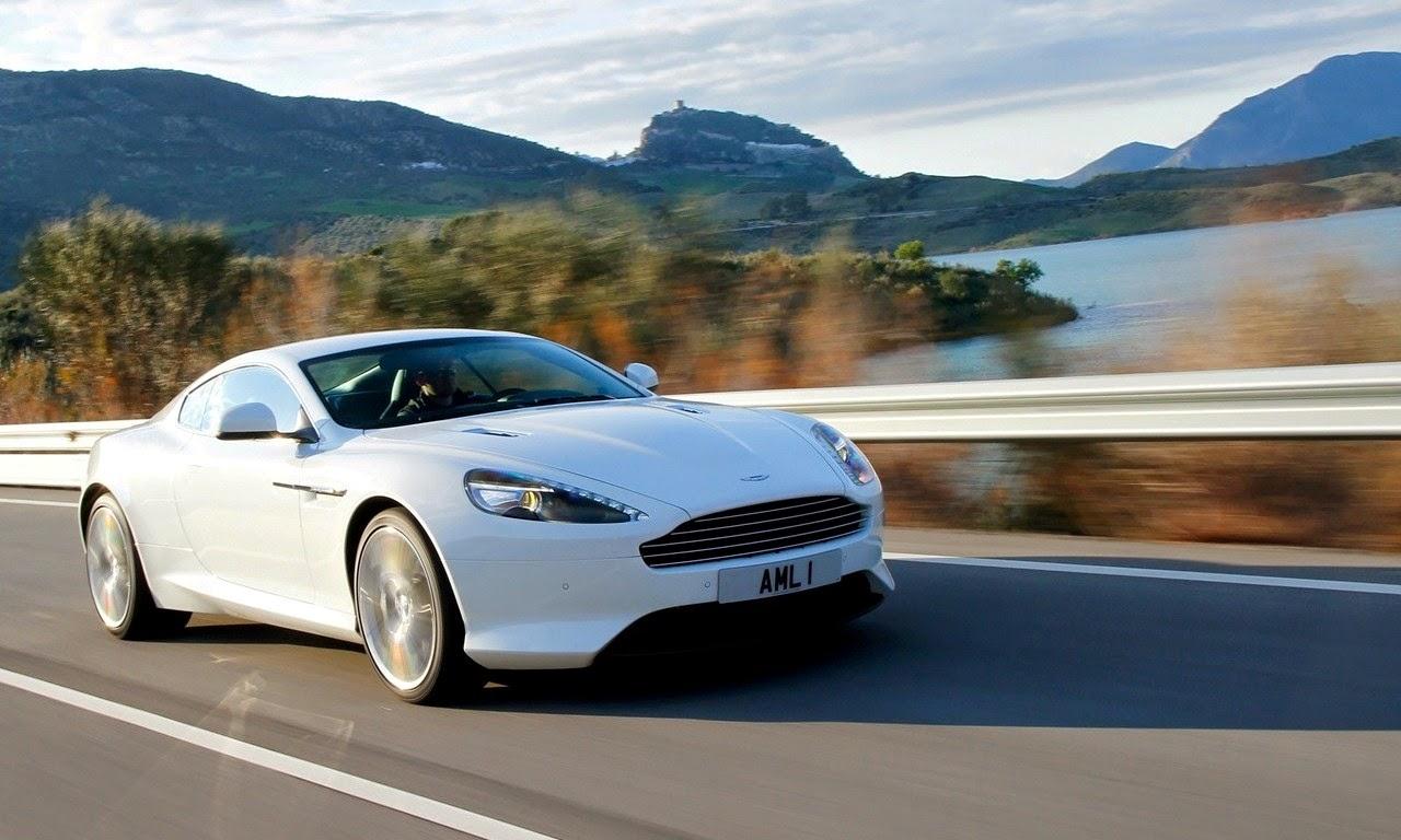 Aston Martin Virage Stratus White 2011