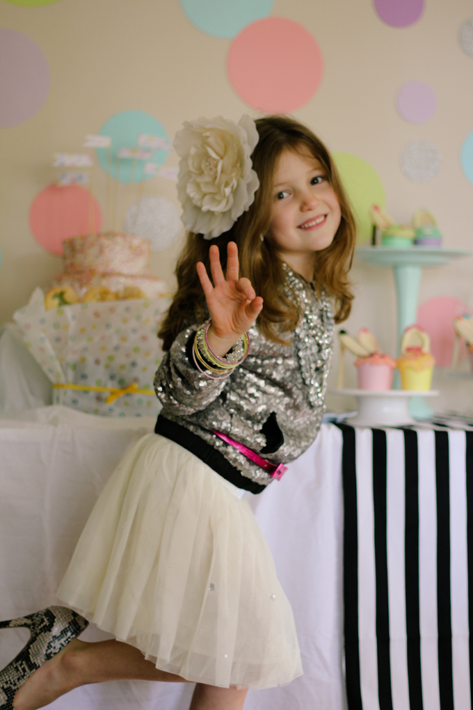 Fashion party ideas little girl