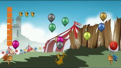 Bezelye Silahıyla Balon Patlatma Oyunu