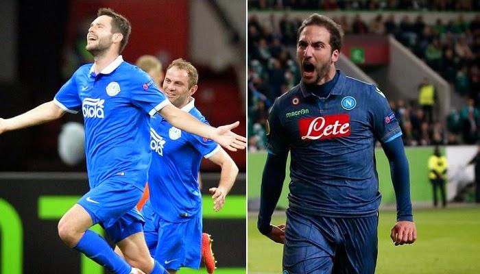 Napoli vs Dnipro en vivo