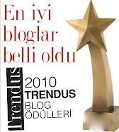 TRENDUS Blog Ödüllerinde Buse's Fashion Blog 2.oldu!