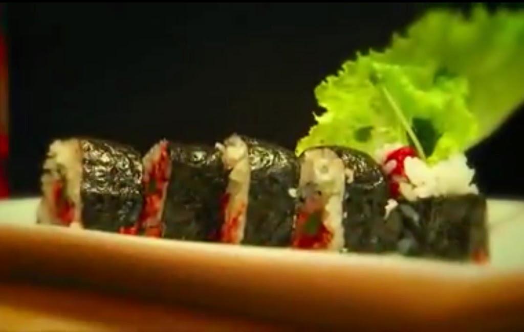 plato de sushi de Alex Chang